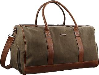 Pierre Cardin Canvas Overnight Duffle Bag (PC2581)