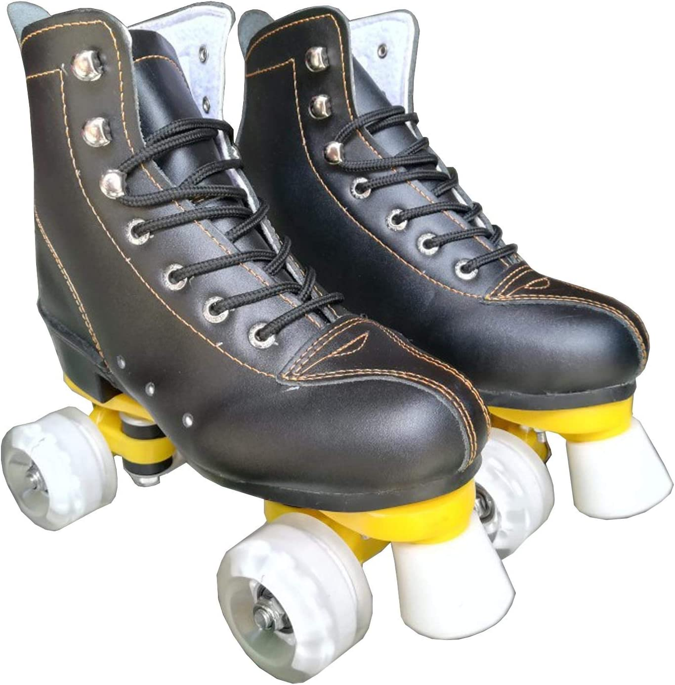 2021 autumn and winter new JXSHQS of Roller Skates Super Special SALE held Leather Adult Four-Wheel