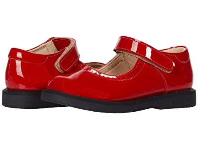 Elephantito Patent Mary Jane (Toddler/Little Kid) (Patent Red) Girls Shoes