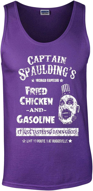 Swaffy Tees 560 Captain Over item handling ☆ Spaulding Adult 5% OFF Tank Top Funny