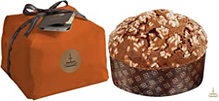 Fiasconaro Traditional Italian Chocolate Panettone Holiday Bread Cake, 2.2 Pound (1000 Gram) Hand Wrapped, Imported From Italy