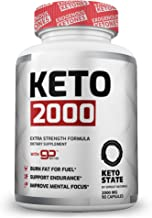 Sprout Naturals 2000mg - Premium Keto Supplement with Patented GoBHB Salts for Keto Diet Support, Entering Ketosis and Mental Focus - 90 Capsules