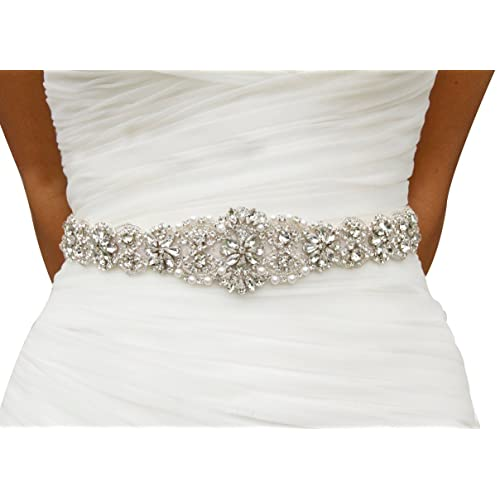 Wedding Dresses Belts Amazon Com