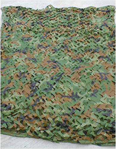 Ziligengsheng 2Mx3M Armée Militaire Camouflage Capot Oxford Tissu Camouflage Net Camouflage Net Chasse Tir Caché Camping Tente, Camp Shelter