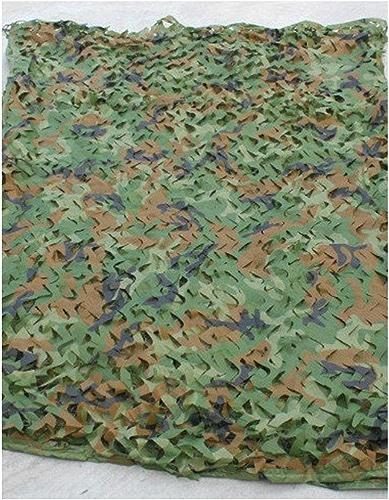 WNpb Filet de Camouflage de 2m × 3m Utilisé pour La Chasse Militaire au Camping, Regarder Aveuglément Un écran Solaire de Décoration de Fête Cachée, Abri de Camping (Taille   6m×8m)