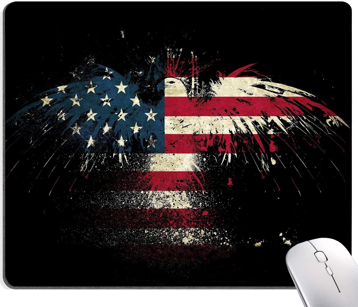 Eagle Mouse Cheap Pad American S Popular overseas Flag Patriotic