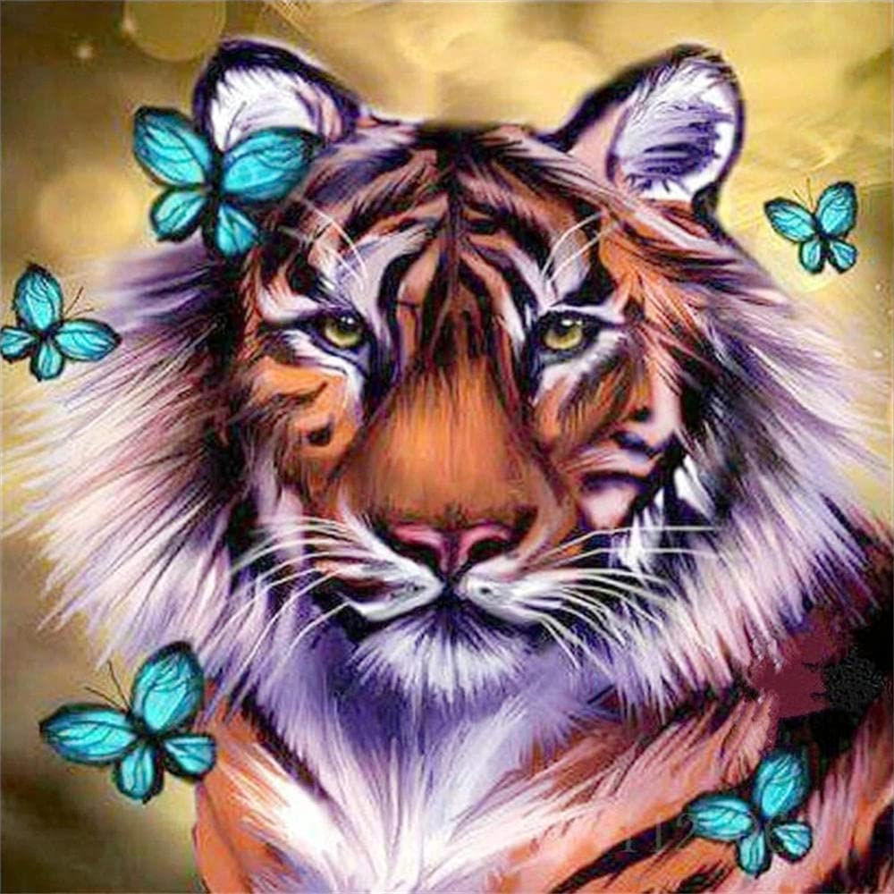 5D DIY Diamond Painting Kits Complete Free Shipping Kid for Virginia Beach Mall Butterfly Number Tiger