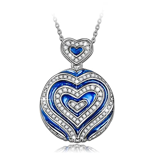 Valentines Gifts for Her to My Luna I Want You Today Next Week for The Rest of Life All I Want is You I Love You and I Will Forever Be Your Husband Funny Necklace Tomorrow
