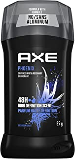 AXE Dual Action Deodorant Stick for Long Lasting Odor Protection Phoenix Crushed Mint & Rosemary Mens Deodorant Formulated...