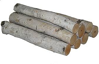 Wilson Enterprises White Birch Log Bundle,