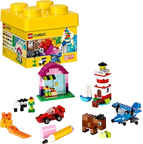 LEGO 10692 Classic Ladrillos Creativos Juego de Construcción, Juego de Construcción para Niños y Niñas 4 años