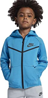 Nike Little Kids Sportswear Tech Fleece Full Zip Hoodie