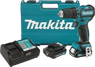 Makita FD07R1 12V MAX CXT Lithium-Ion Brushless Cordless Driver-Drill Kit, 3/8