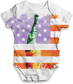 qidushop California Infant Creeper Christmas Baby Bodysuit for Newborn Baby