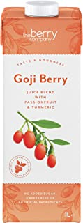 The Berry Company Goji Berry Juice Blend with Passionfruit & Ginseng, 1 Litre