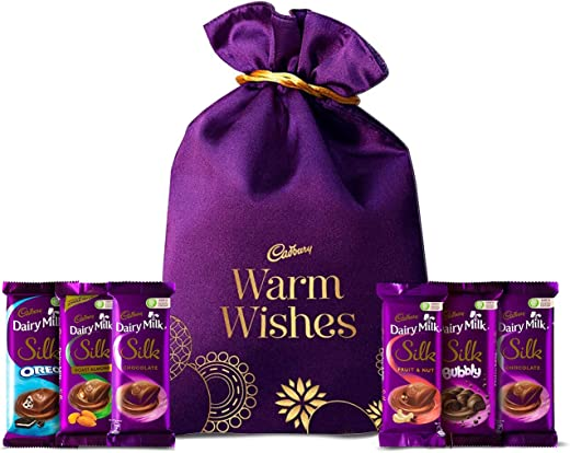 Cadbury Silk Rakhi Special Potli,343g 1
