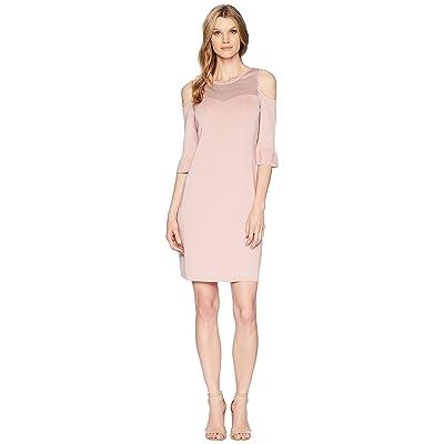 NIC+ZOE Pointelle Pattern Dress (Pink Dust) Women