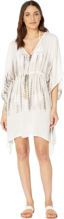 Jeannie Dip-Dye V-Neck Cover-Up