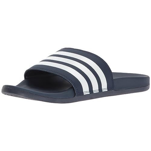 cf1a7f5deaabd5 adidas Women s Adilette CF+ Stripes W Famous Slide Sandal