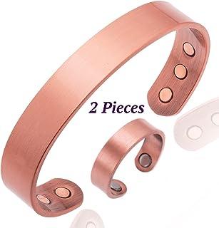 Pulsera de cobre para la artritis Magnética Hombres o