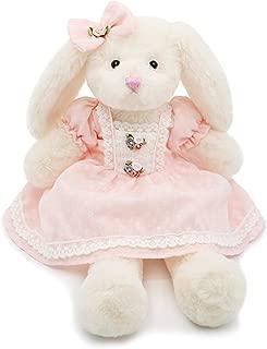 white rabbit stuffed toy