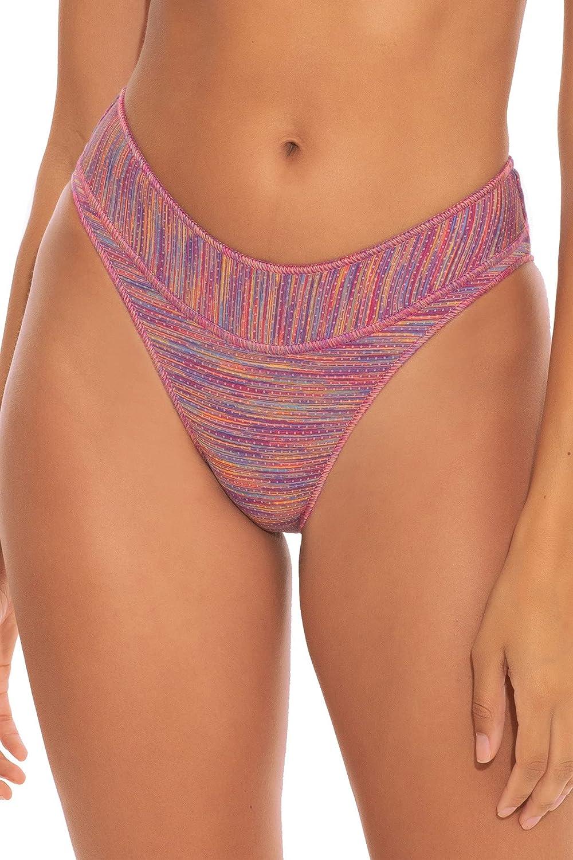 Becca by Rebecca Virtue Women's Mosaics Mia Banded Hipster Bikini Bottom