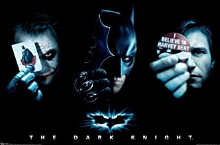 "Trends International Dark Knight 3 Way Wall Poster 22.375"" x 34"""
