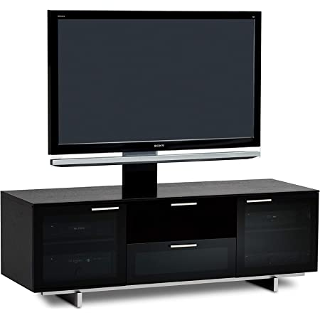 BDI 8937 Avion Noir Media Cabinet & TV Stand, Black