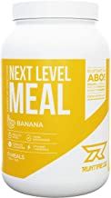 Runtime Next Level Meal – Full Meal Replacement for Long-Lasting Satiation Energy Concentration and Performance with Vitamins and Nutrients Banana Estimated Price : £ 29,95