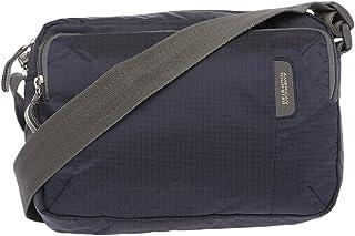 American Tourister Excursion Polyester 26 cms Blue Messenger Bag (at Excursion Bag - Blue Print)