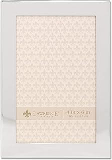 إطارات لورانس 4x6 إطار صورة معدني فضي مسطح 4x6 589046