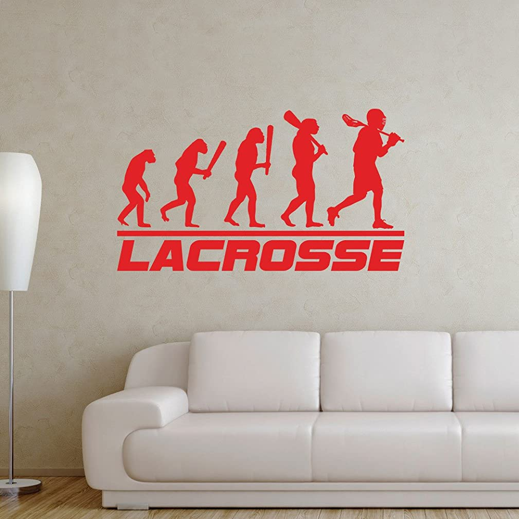 ChalkTalkSPORTS Lacrosse Evolution Removable ChalkTalkGraphix Wall Decal