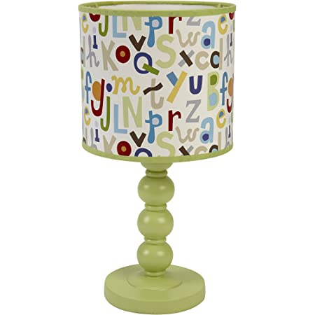 NoJo by Jill McDonald ABC with Me Lamp and Shade