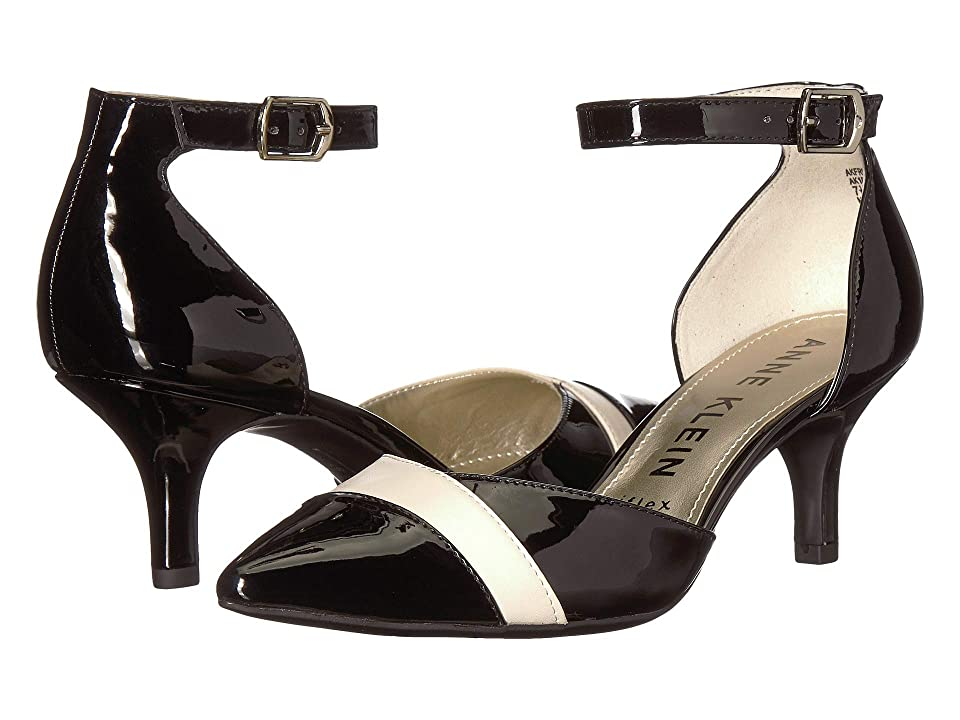 Anne Klein Fritsie Pump (Black/Cream) Women