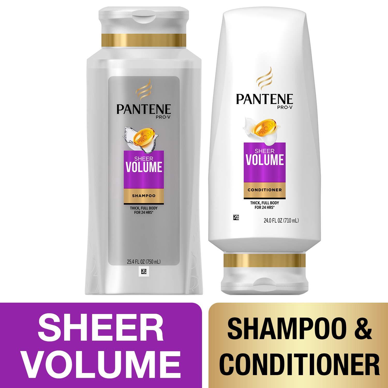 Pantene Volumizing Shampoo Sulfate Conditioner