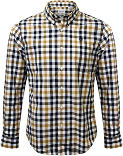 Timberland Men's Plaid Button-Down Shirt
