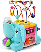 TOP BRIGHT Activity Cube Toys – Educational Baby Toys with Bead Maze for Toddlers 1..