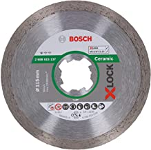 Bosch Professional elmas kesme diski, standart (seramik, X-LOCK, delik çapı: 22,23 mm), 2608615137
