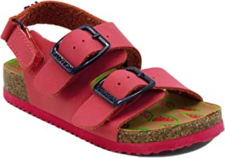 a0914d926f3 Nautica Kids Grant Toddler Open Toe Sandal 2 Buckle Straps Comfort Slide  Outdoor Back Strap Casual
