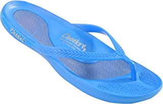 CHEEKS South Beach Sandals by Tony Little, America's Personal Trainer, Made from Low Impact EVA, Waterproof, Lightweight with Arch Support, Molded Footbed and Uni-Gel Heal Pad