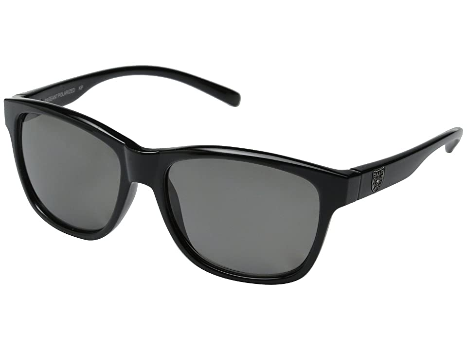 SunCloud Polarized Optics Pageant (Black Frame/Gray Polarized Polycarbonate Lenses) Fashion Sunglasses