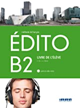 EDITO B2 ELEVE+CD+DVD - 9788490492055 (Nouvel Edito)