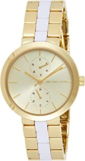 Michael Kors Women's Garner Gold-Tone Watch MK6472