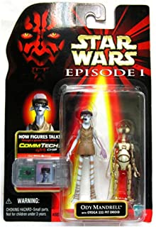 Star Wars Episode I The Phantom Menace Ody Mandrell with Otoga 222 Pit Droid 3.75 Inches