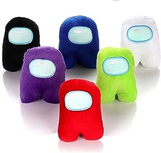 어몽 어스 봉제 인형 장난감 6피스 세트 (어린이 선물 추천!) Among Us Plush Toys, 6 Pcs Plushie Merch for Fans