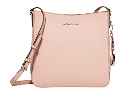 MICHAEL Michael Kors Jet Set Travel Lg Messenger (Smokey Rose) Messenger Bags