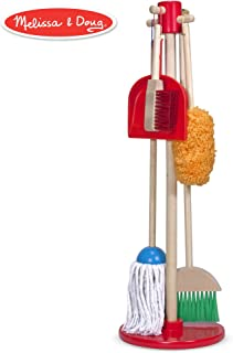 Melissa & Doug Let's Play House Dust! Sweep! Mop! 6-Piece Pretend Play Set