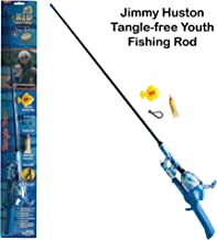 Kid Casters - Fishing Pole and Spincast Reel Combo - Tangle Free, Ultralight and Flexible Fishing Rod for Kids and Youth Anglers - Fishing Kit with Practice Casting Plug
