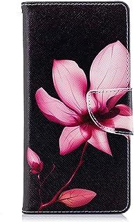 GIMTON Coque pour Sony Xperia XZ2, Durable Housse en Cuir PU et TPU Souple, Elégant Portefeuille avec Fonction Stand pour ...