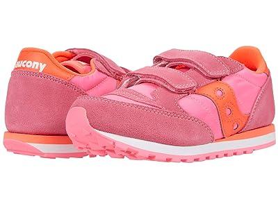 Saucony Kids Originals Jazz Double HL (Little Kid) (Pink/Red) Girl